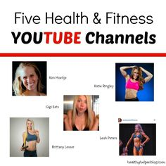 Five Fitness and Health YouTube Channels – Healthy Helper