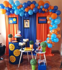 Explore the best ideas to celebrate a Dragon ball z Party using lots of Drogan ball Z birthday crafts to help you give a unique decoration style. Goku Birthday, Naruto Birthday, Nerf Birthday Party, Ball Birthday Parties, Dragon Birthday, Baby Boy 1st Birthday, Toy Story Birthday, Birthday Party Decorations, Birthday Ideas