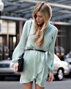Платье женское Inlovewithfashion, цвет: бирюзовый, артикул: 718.17266 в интернет-магазине Zazazu