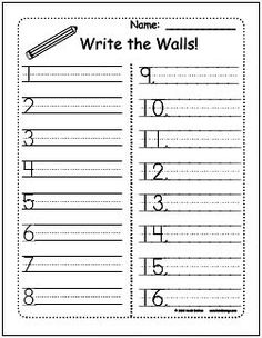 write around the room first grade freebie