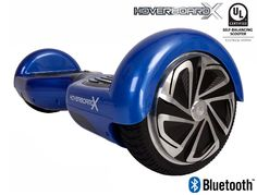 HoverboardX HBX-2 Blue UL 2272 Certified with Bluetooth
