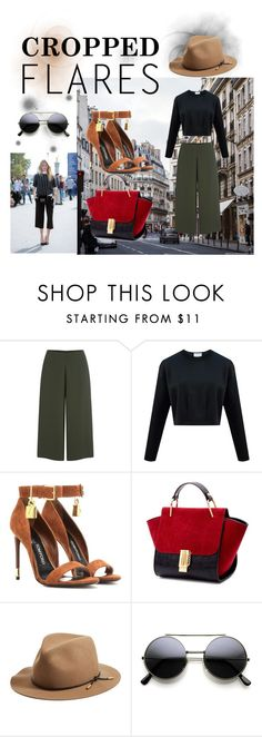 """Cropped Flares Contest"" by juliamella on Polyvore featuring Cameo, Tom Ford, rag & bone, women's clothing, women's fashion, women, female, woman, misses and juniors"