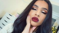 Festive Holiday Glam 13 Christmas Makeup Styles for Festivity Ahead Christmas Makeup, Holiday Makeup, Cool Hairstyles For Girls, Bride Hairstyles, Full Makeup, Glam Makeup, Best Makeup Tips, Best Makeup Products, Leyla Rose