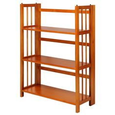 Folding Wood Bookcases - Best Paint for Wood Furniture Check more at http://fiveinchfloppy.com/folding-wood-bookcases/