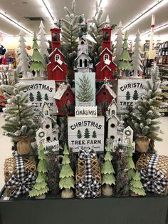 Hobby Lobby Christmas, Christmas Wreaths, Christmas Decorations, Christmas Tree, Cowboy Christmas, Xmas, Gift Shop Interiors, Buffalo Check, Holiday Decorating