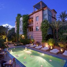Romantisches Hotel Dar Rhizlane Palais Table d'hôtes & Spa - Marrakesch, Marokko