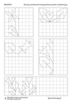 Visual Perception Activities, Graph Paper Art, Busy Boxes, Math Intervention, Kids English, Borders For Paper, Preschool Worksheets, Home Schooling, Doodle Drawings