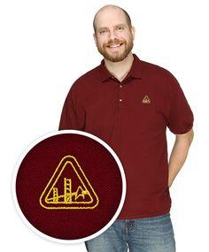 Star Trek Starfleet Academy Polo Shirt $29.99