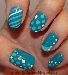 Aqua nails