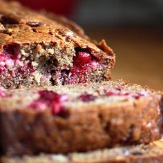 Cranberry Banana Bread, made this! So good :)