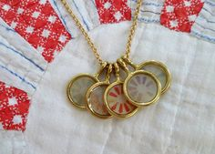 Personalized Jewelry: Grandma's Quilt | Just Something I Made