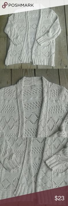 Lucky Brand knit cardigan Knit, excellent condition Lucky Brand Sweaters Cardigans