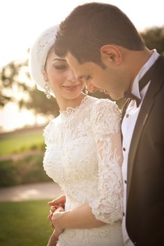 Bridal Headscarf Veil Inspiration, Hijab bride, modest bride