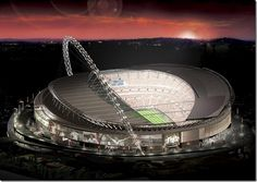 Wembley Stadium in London, UK #architecture