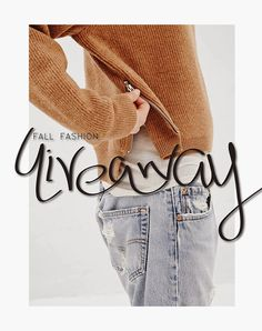GIVEAWAY | Fall Fashion Gift Card Giveaways, Jumper, Autumn Fashion, September, Layout, Style Inspiration, Reading, Awesome, Casual