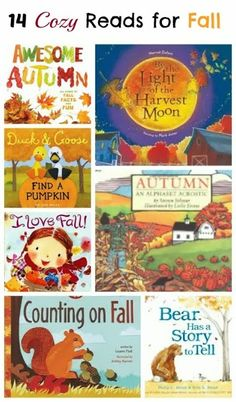 Hibernate with these great reads with the kiddies while enjoying some healthy treats!