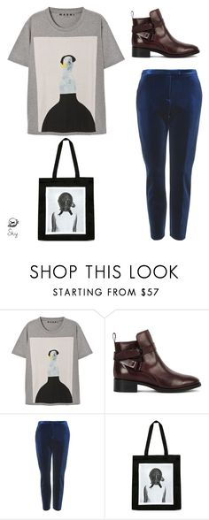 """""""s k y"""" by skyl19 ❤ liked on Polyvore featuring Marni, McQ by Alexander McQueen, Topshop and Yang Li"""