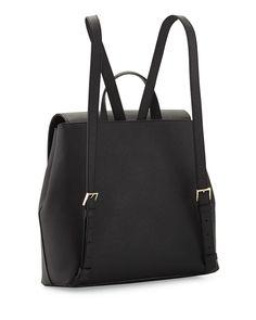 kate spade new york cameron street neema leather backpack, black