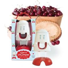 cherry pitter - so cool!