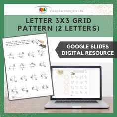 This digitally interactive resource is designed for use with Google Slides. This resource contains 20 slides in total. Answer sheets are included.The student must search for all the letter grid patterns that look the same as the example at the top, and drag the orange circles to mark the correct answers.