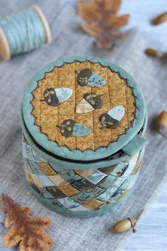 Корзинка с желудями / Basket with acorns - Вечерние посиделки