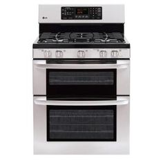 LG Electronics 30 In Freestanding Double Oven Gas Convection Range.   With all the cooking I do, double ovens are not a splurge!
