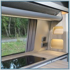 Camper Van, Motorhome Aluminium Furniture Corner Profile Capping Camper Beds, Camper Caravan, Camper Trailers, Camper Van, Campers, Vw Conversions, Camper Conversion, Vw T1, Volkswagen