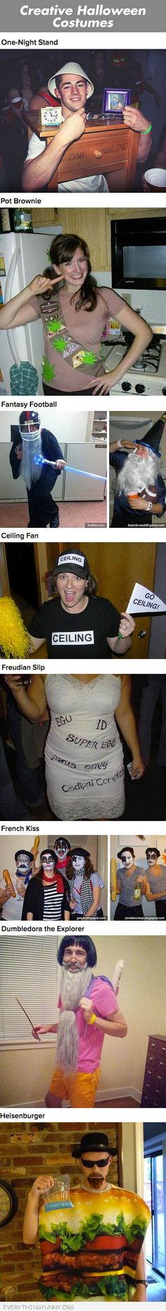 funny caption creative halloween costumes