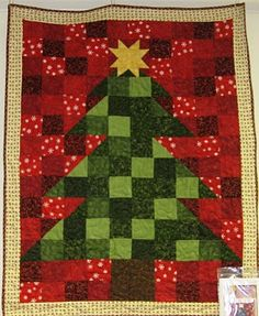 Christmas Tree Quilt - Fabric Mill: September 2010