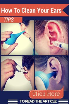 So, what is the right way to clean your ears? Short of going to the doctor for a proper ear cleaning, how can you get rid of the wax in your ears? Here are a few of the best methods for cleaning out your ears: Ear Health, Home Health, Health Tips, Cleaning Your Ears, Ear Cleaning, Cleaning Tips, Dry Skin Remedies, Health Remedies, Clean Ear Wax Out