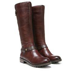 Naturalizer Tanita Wide Calf Boots (Multi Brn Leather Wide) - M Leather Boots, Brown Leather, Calf Leather, Wide Calf Boots, Naturalizer Shoes, Fashion Boots, Riding Boots, Calves, Shoe Boots