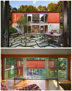 Adam Kalkin's Old Lady House is a refreshing reminder that two seemingly disparate ideas can be reconfigured to exist harmoniously. #Container #architecture #shippingcontainer
