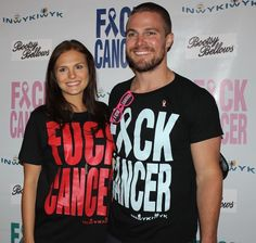 Stephen Amell at F*ck Cancer