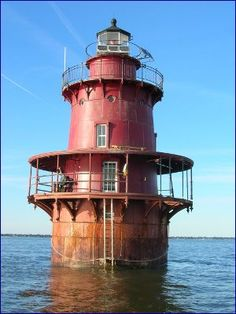 Rusty Red Lighthouse