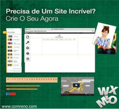 Comece A Criar O Seu Próprio Site Hoje Mesmo Aqui em...www.comreno.com