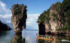Phang Nga Bay, Thailand: One-minute wonder