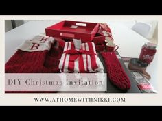 In this video I share with you my DIY 2017 gift invitation that I give to my family to invite them to my home for Christmas. I hope you will enjoy! Get updat. 2017 Christmas Gifts, Christmas Jesus, Christmas Home, Elegant Dinner Party, Christmas Invitations, Holidays 2017, Wedding Videos, Diy Cards, Invitation Ideas