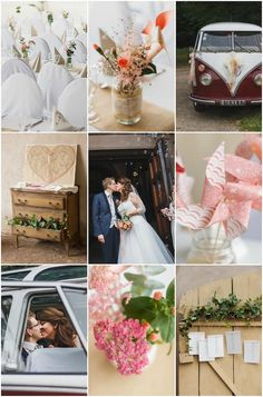 French Wedding with Sweet DIY Details