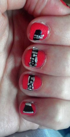 I play the clarinet this is really cool I need to think of something like this for the flute, piccolo, guitar, or piano! Band Mom, Band Nerd, Cute Nails, Pretty Nails, Hair And Nails, My Nails, Band Nails, Music Nails, Music Humor