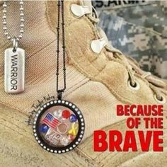 Because of the brave.  Follow link to start creating your own lockets