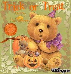 Orsetti Halloween Bear