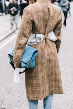 London fashion week ss2018 street style
