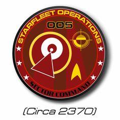 Starfleet Operations: 005 Sector Command (Circa 2370) Star Trek Symbol, Star Trek Logo, Star Wars, Star Trek Emblem, Adventure Rpg, Stark Trek, Star Trek Ships, Star Trek Universe, Parallel Universe