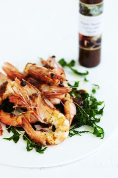 Chef Peter Kuruvita from Noosa Beach House's Black Pepper Curry Leaf Sauce is delish with prawns.