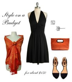 """LBD on a Budget"" by bluehydrangea ❤ liked on Polyvore featuring Zara, Rachel, Peach Couture and dresses"