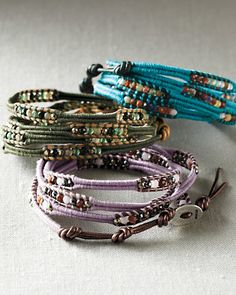 Chan Luu Mixed Bead and Nugget Bracelet