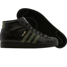 Adidas Pro Model (black1 / strong olive / metallic gold) G49853 - $77.99