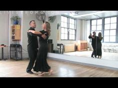 A basic waltz step is the foundation of much ballroom dancing.  Learn to waltz and ballroom dance in this dance lesson video.