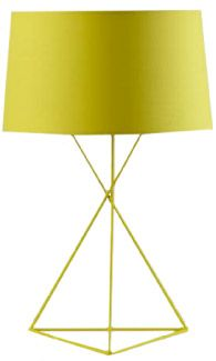 The Land of Nod Isosceles Table Lamp // Modern Design, Pop of Color