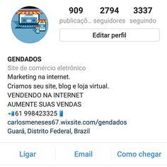 Siga nosso instagram  Boa tarde  #criarsite #criarsites #criarblog #criarlojavirtual #negocios #brasilia #instadf #blogger #bloggerlife #digitalmarketing #blogging #bloggers #blogs #blog #blogpost #bloggingtips #bloggerstyle #ads #web #instagramers #socialmedia #influencer #paginasweb #wordpress #instagramers #socialmedia